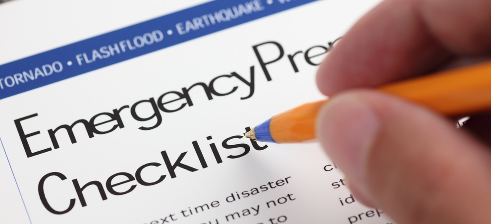 Insurance Emergency Check List